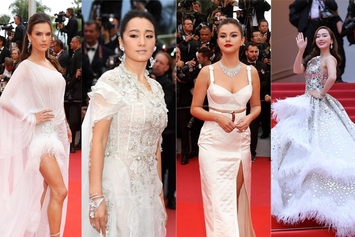 bf9a0f23c (From left) Alessandra Ambrosio, Gong Li, Selena Gomez and Jessica Jung were