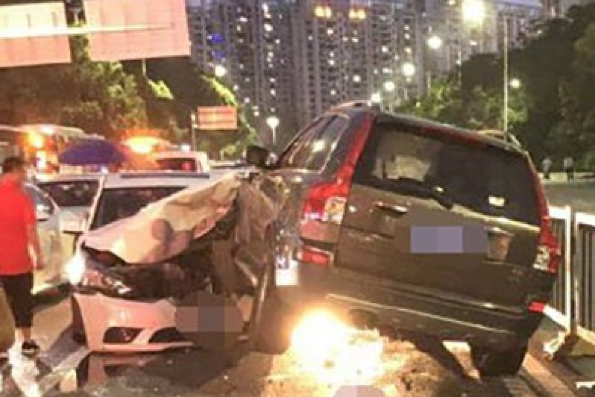 Police in Shenzhen, Guangdong province, are investigating a driver's medical history after a fatal accident on Thursday. Photo: Weibo