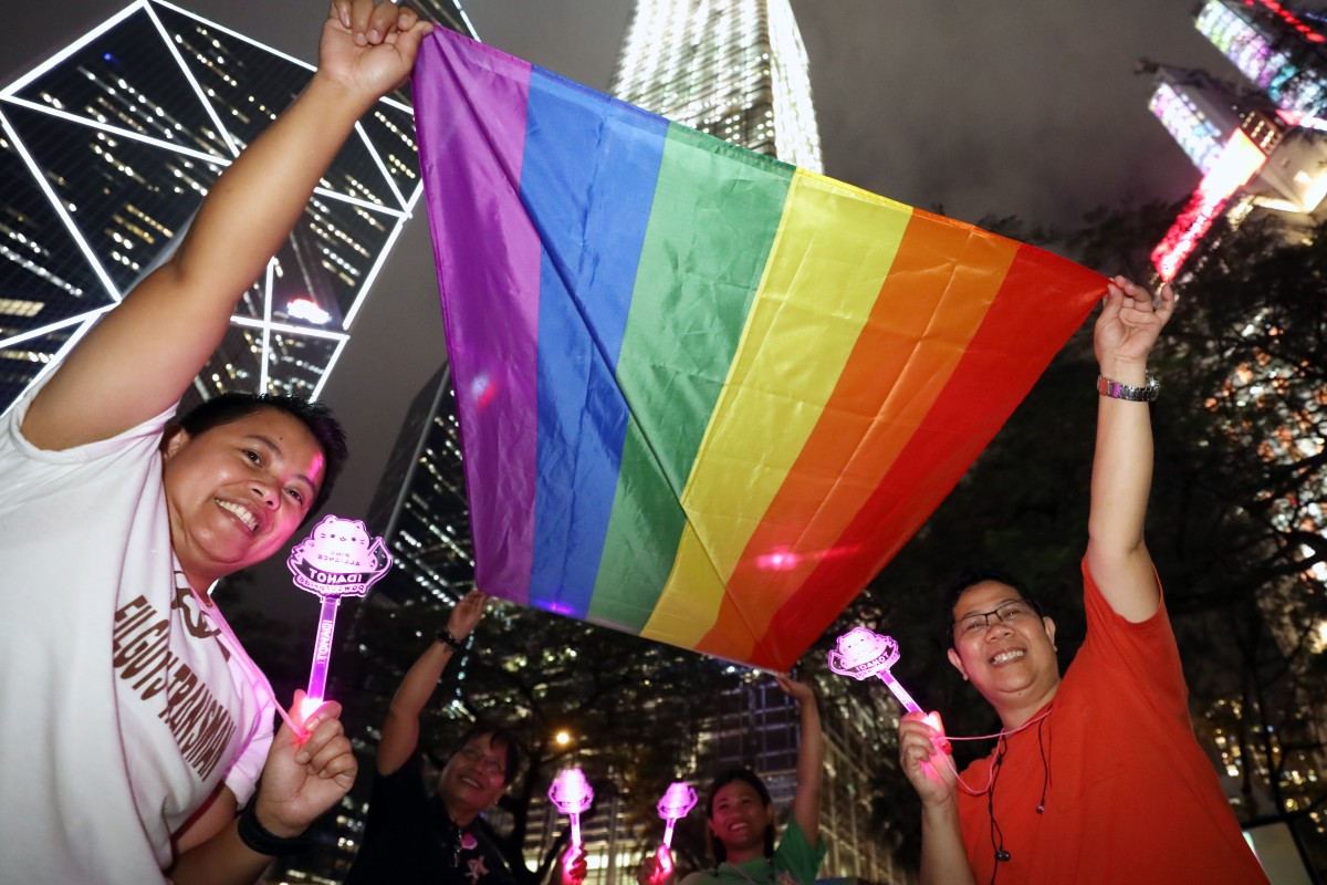 Hong Kong LGBT community calls on government to follow Taiwan's lead on legalising same-sex marriage, but...