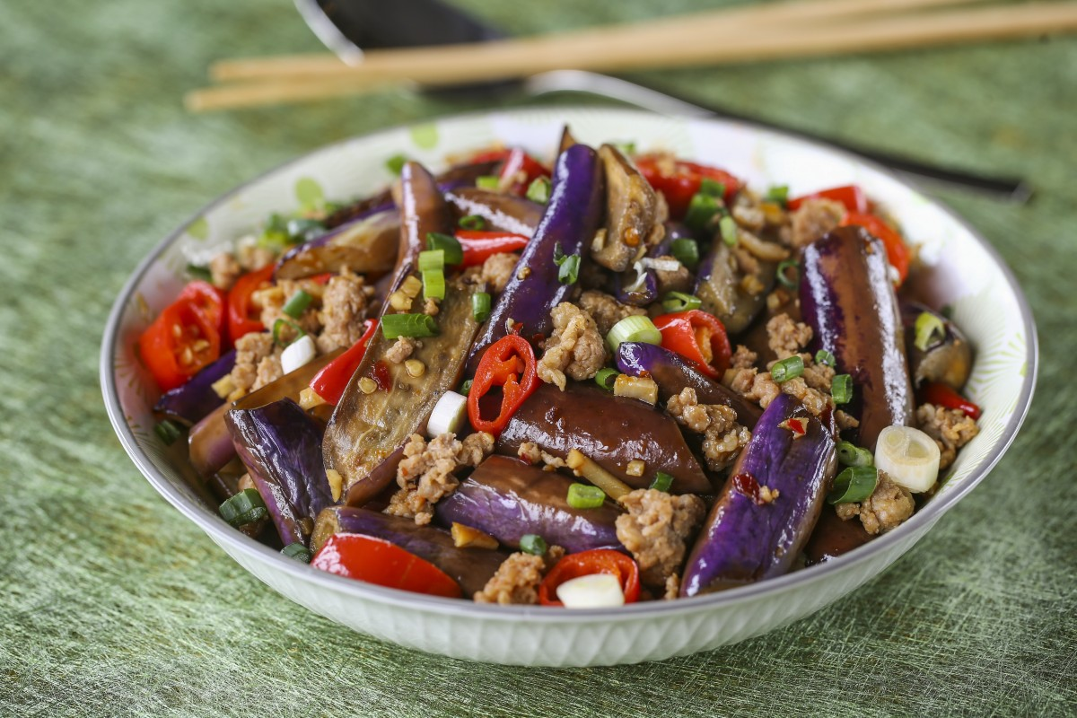 How to make Hong Kong-style fish-fragrant eggplant – yu