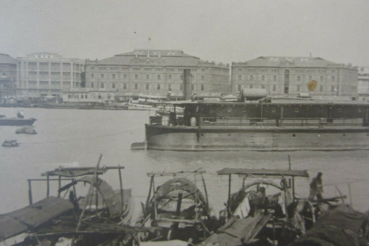 The historic buildings on Shanghai's Bund in the 1930s. One of the three structures has already been demolished but authorities have temporarily suspended plans to knock down the other two. Photo: Handout