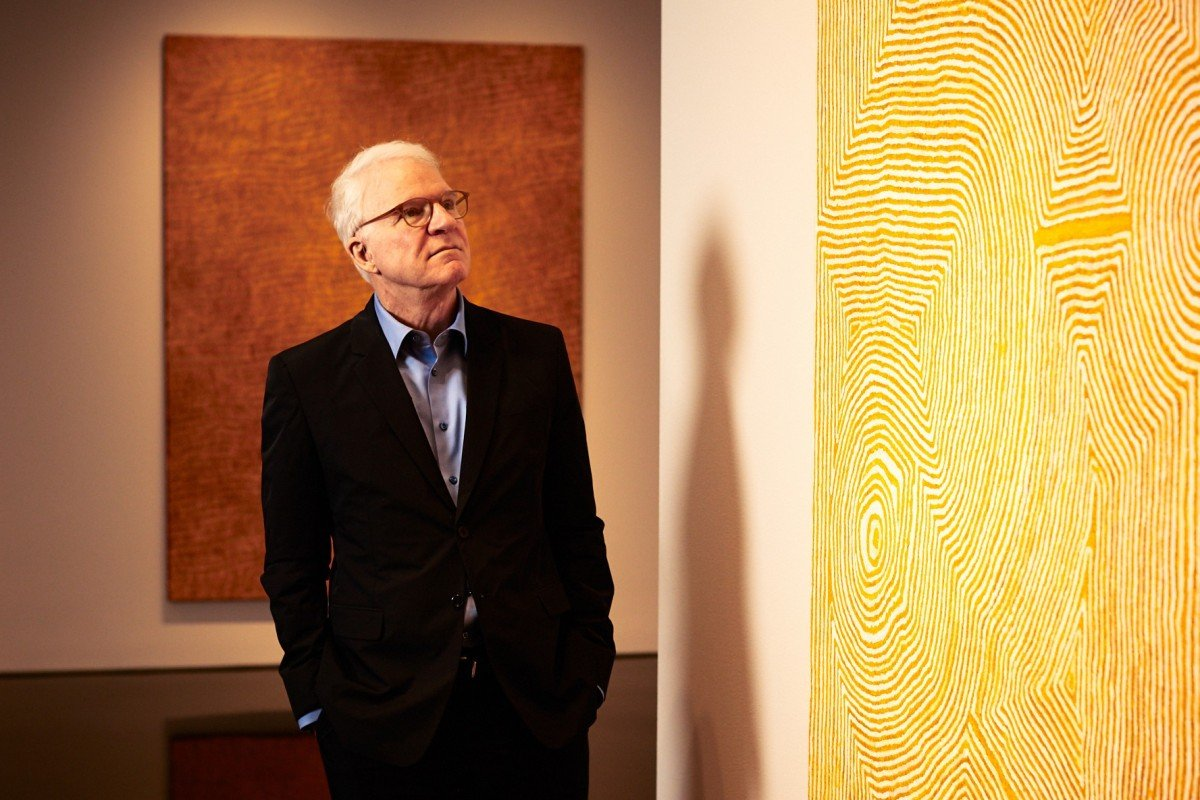 Australian Aboriginal art on Madison Avenue? Thank Steve Martin, its surprising new champion