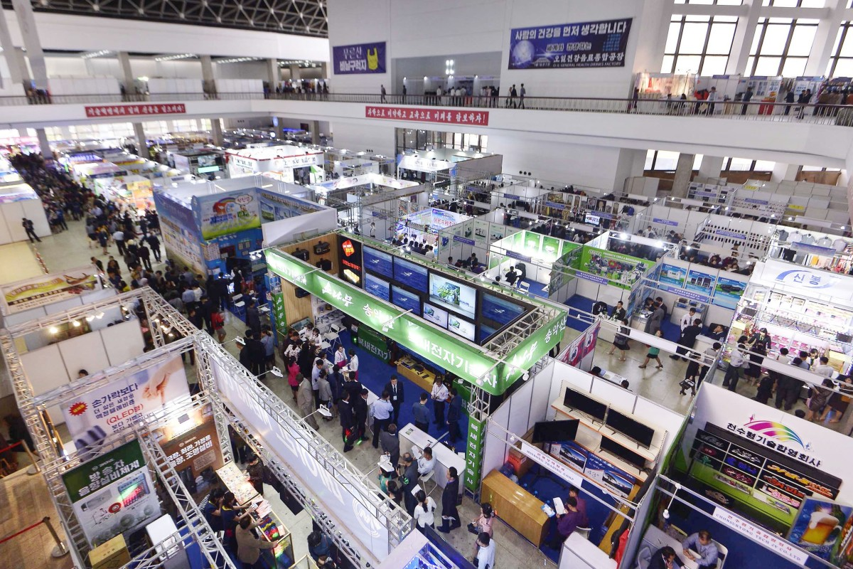 Hundreds of foreign companies attend North Korean trade fair