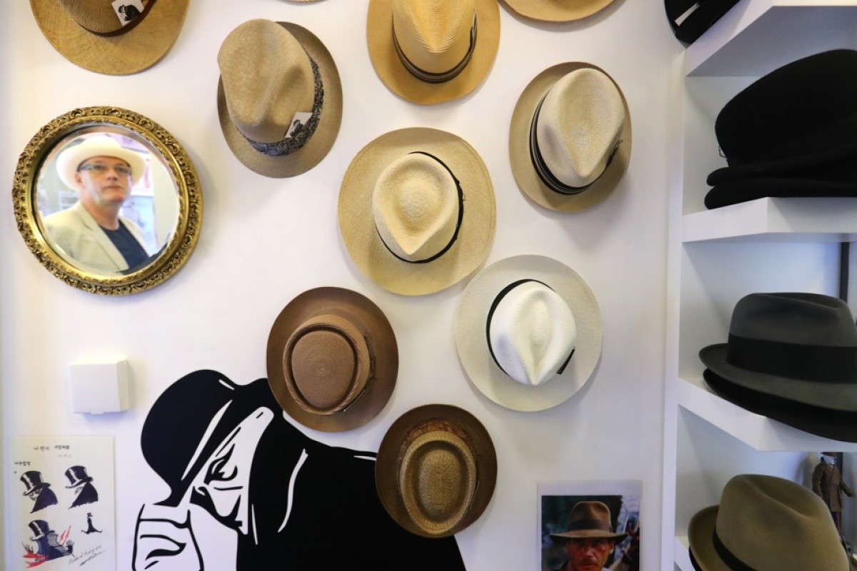 d9e6bc844 Cowboy hats, fedoras, bowlers: hat shop owner on the item that can ...