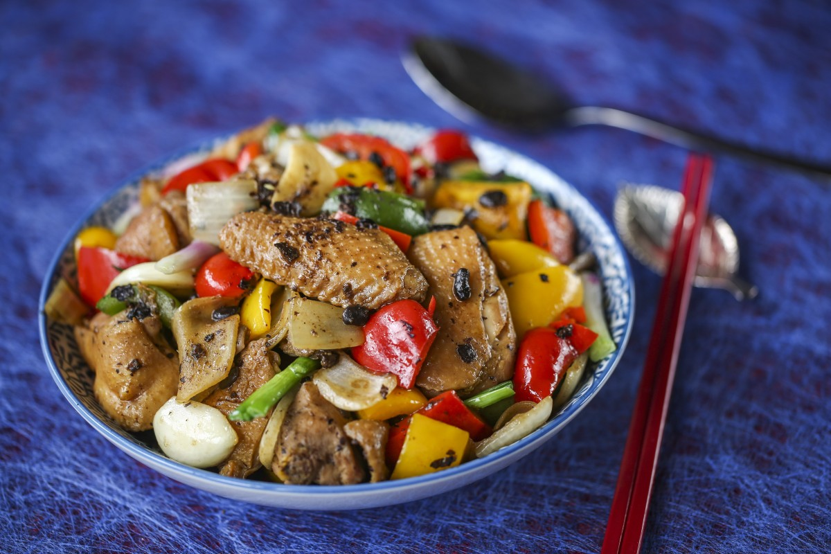How to make chicken with black bean sauce: Cantonese classic gets a colourful makeover