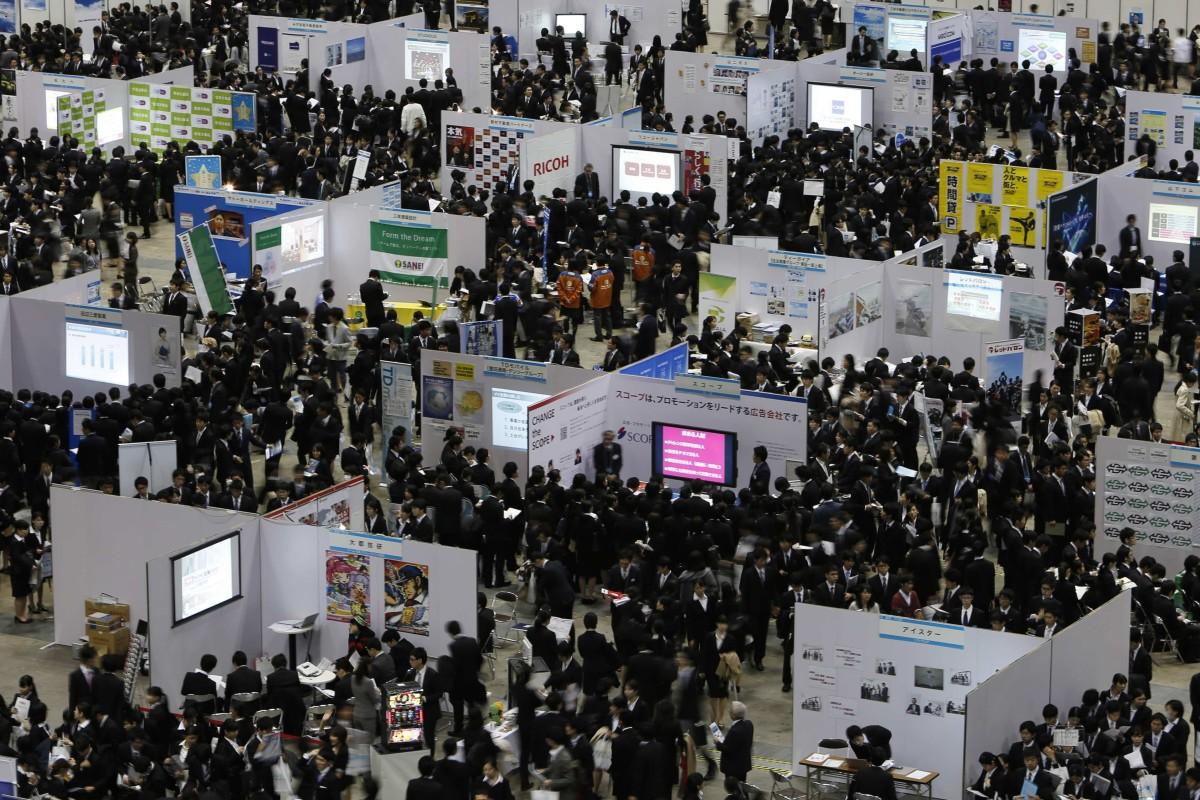 Do stressed millennials spell end for 'shukatsu', Japan's notorious graduate recruitment process?