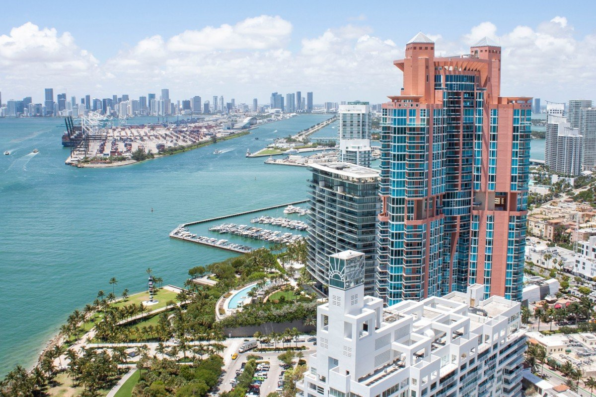 6482719f2 The penthouse offers stunning views of South Beach and downtown Miami.  Photo  Business Insider
