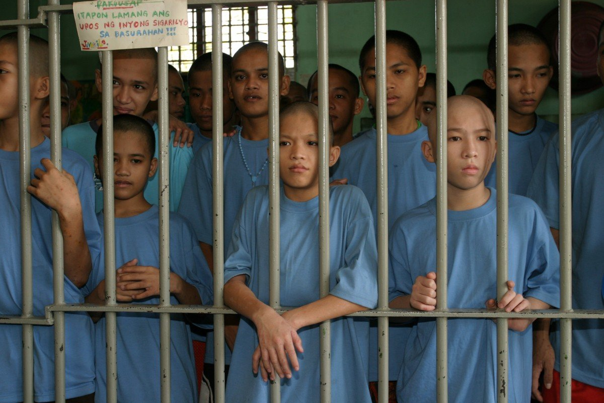 Children In Prison: Philippines' Rundown Houses Of Hope