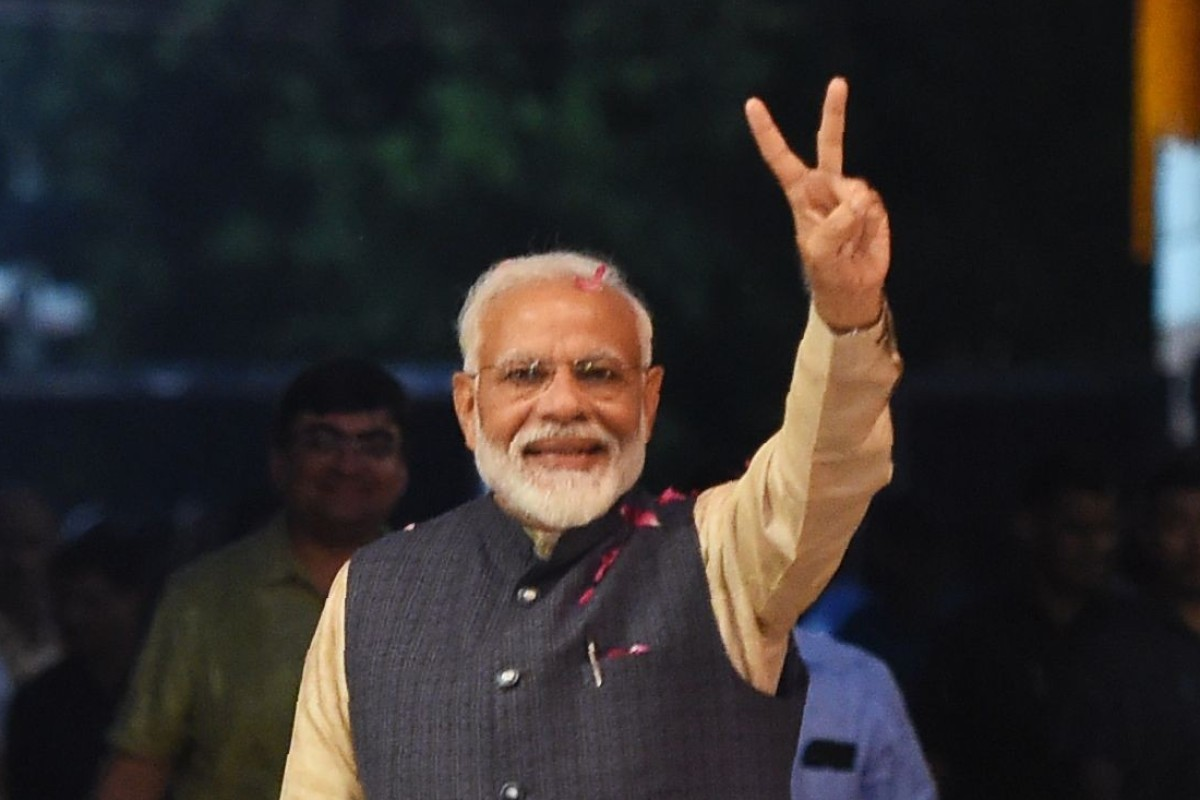 India election: Narendra Modi claims victory for BJP, pledges to