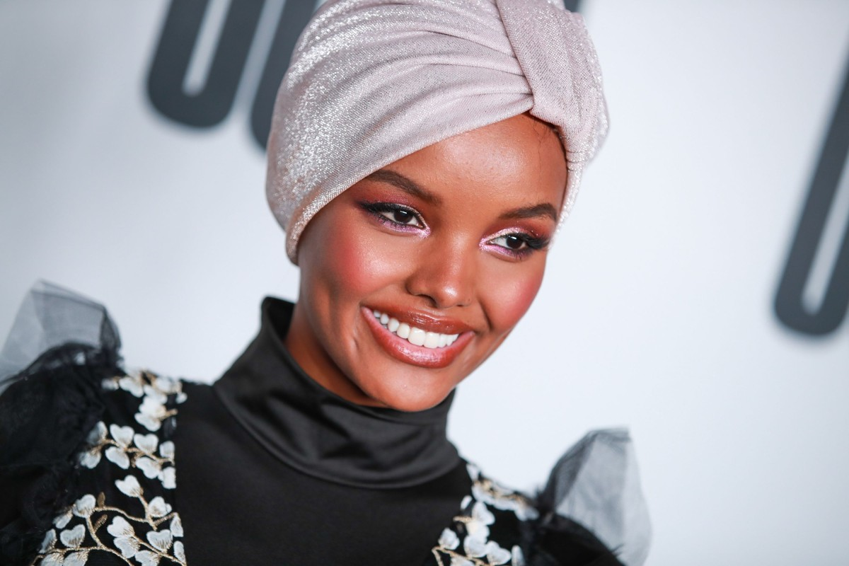 d4d1f060d02a3 Halima Aden became the first model to wear a hijab and burkini on the cover  of
