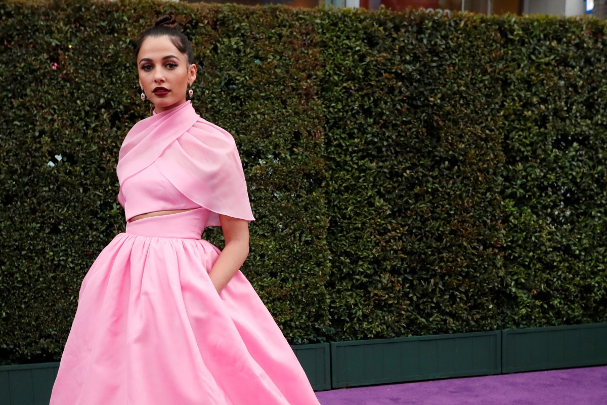 622559eeff6dc Naomi Scott, who plays Princess Jasmine in the live-action remake of  Aladdin,