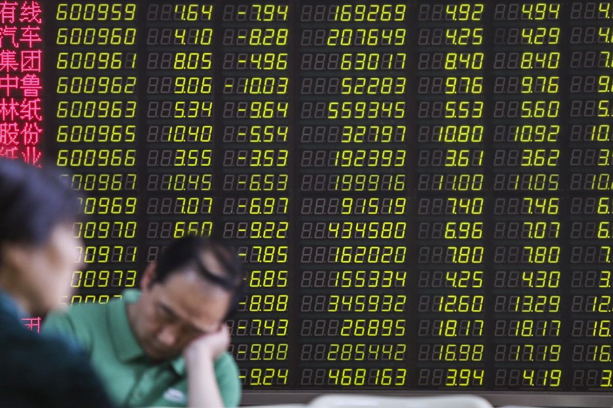 Trade war-triggered turbulence in Chinese stocks presents