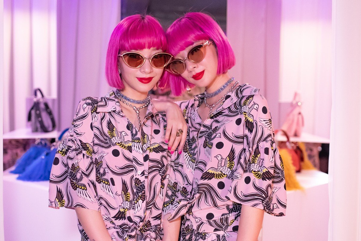 Japanese fashion influencers Amiaya talk about taking their Harajuku style to the world