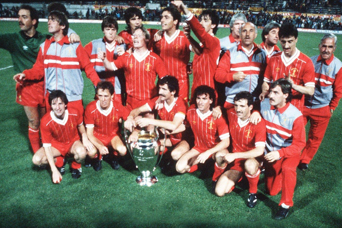 55c80d3d549 Liverpool celebrate winning the 1984 European Cup in Rome. The feat was all  the more