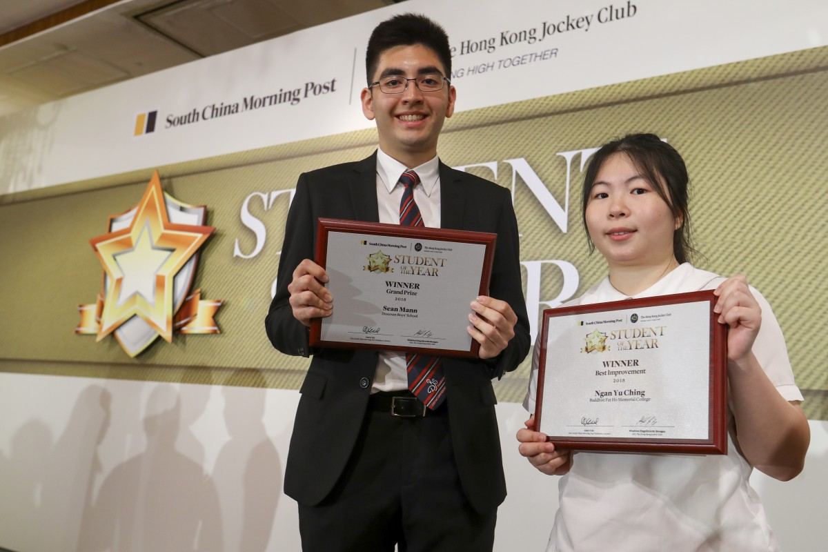 Sean Mann L The Student Of Year Grand Prize Winner And