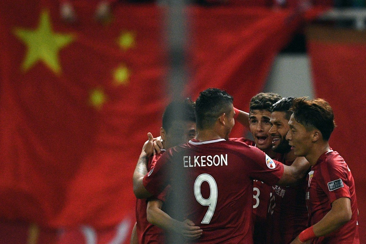 4f315258ef5 Shanghai SIPG Brazilian forward Elkeson is being linked with the Chinese  national team. Photo