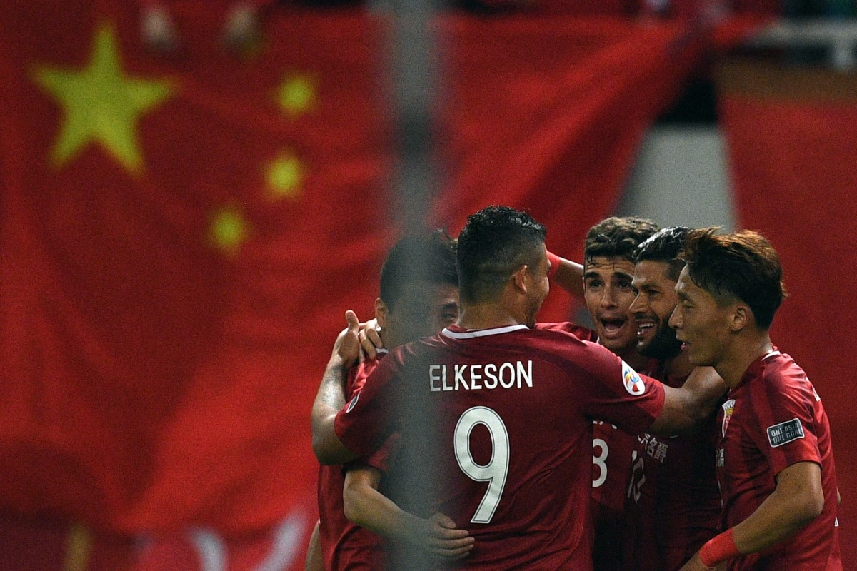 1b437c70db7 Shanghai SIPG Brazilian forward Elkeson is being linked with the Chinese  national team. Photo