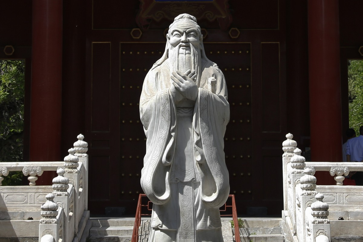The Communist Party for decades attacked the sage as a symbol of feudalism, but now Confucianism has been elevated. Photo: AP