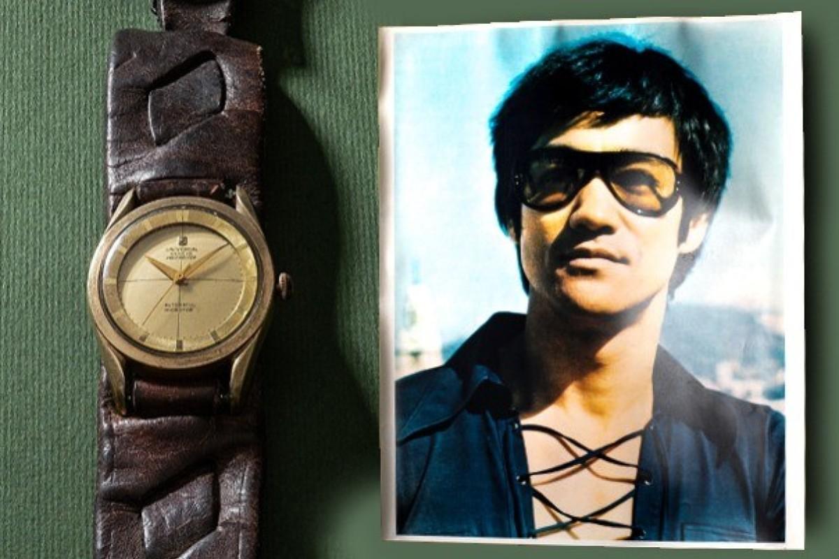 Martial arts superstar Bruce Lee's watch sells for huge
