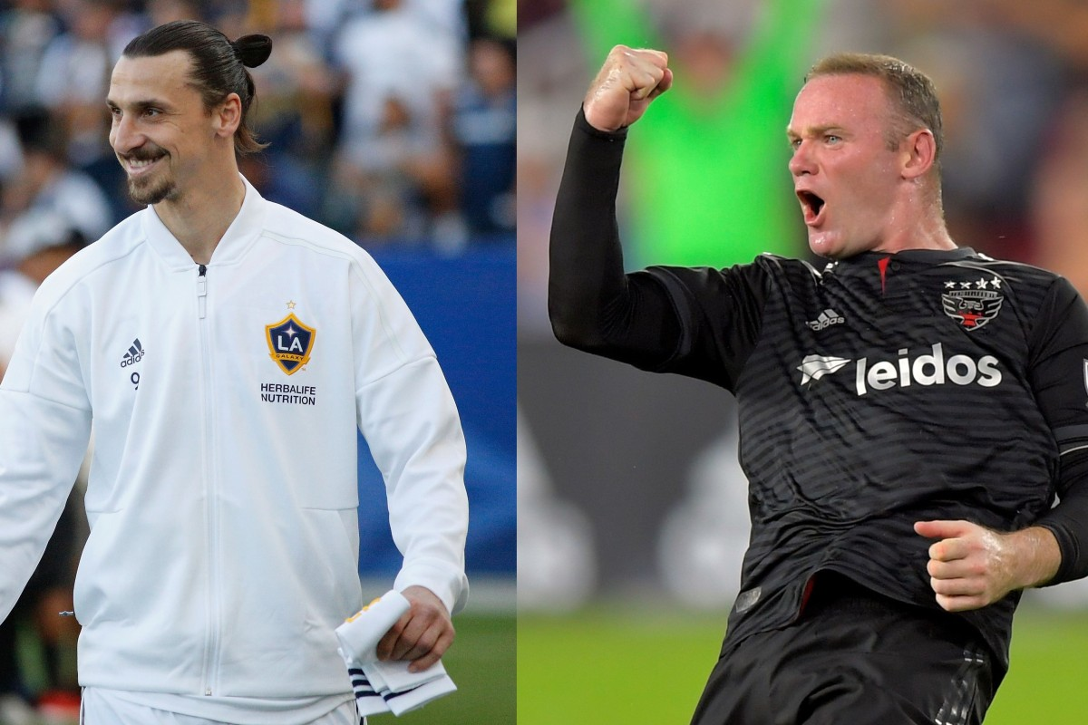 bcde19909 Zlatan Ibrahimovic and Wayne Rooney are dominating the MLS again this  season while they are both