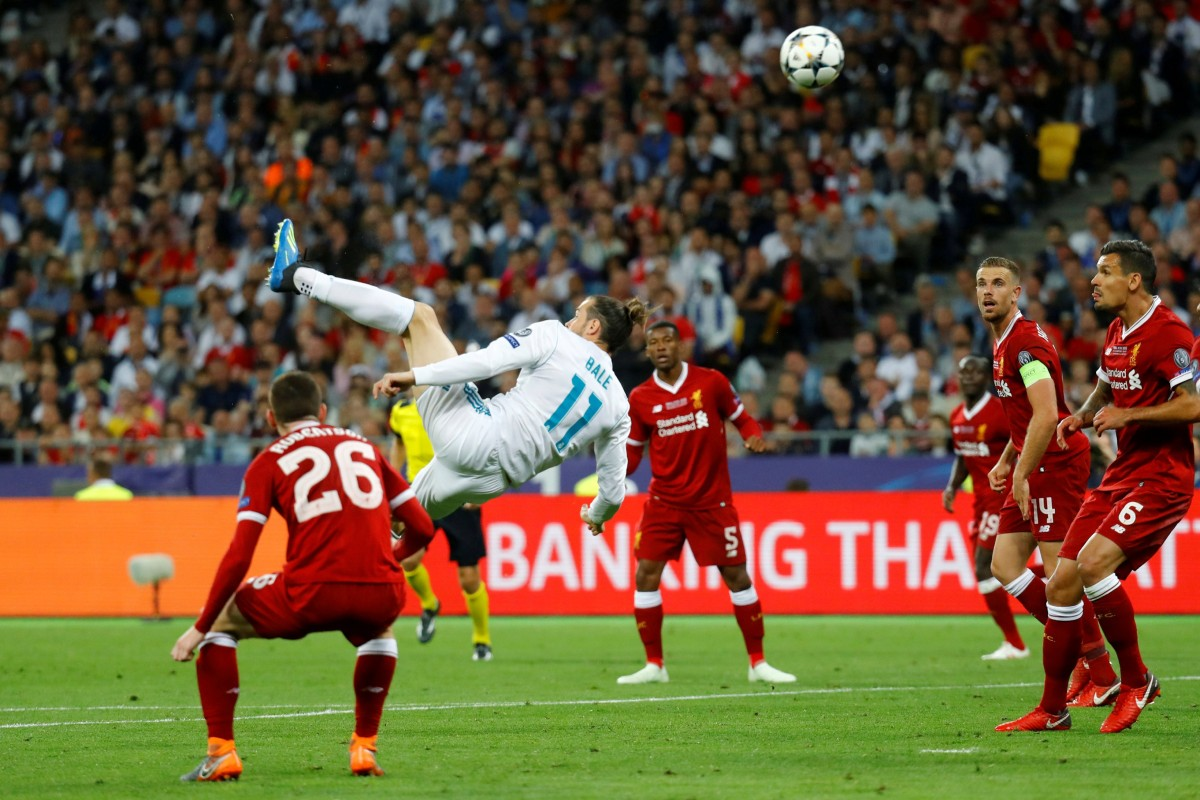 602a7f82a Real Madrid substitute Gareth Bale scores one of his two goals in Madrid s  3-1