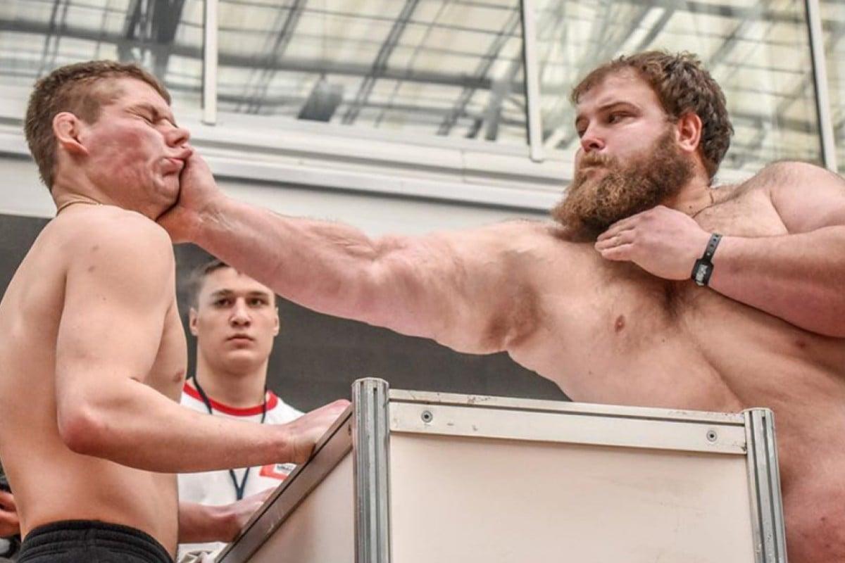 Slap smackdown: Russian 'Dumpling' Kamotskiy blasts 'Bazooka ...