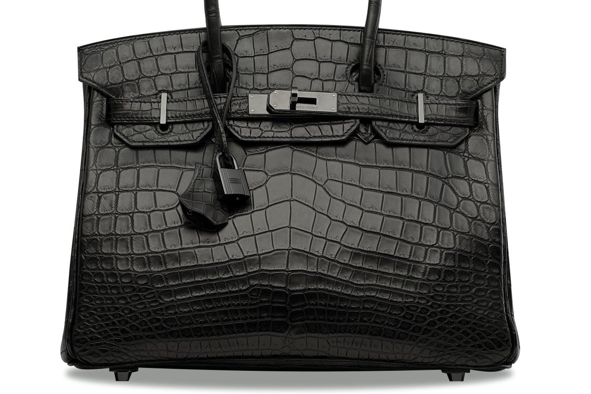 a1c3de90a2d A Hermès So Black series handbag of the same design as one that sold for a