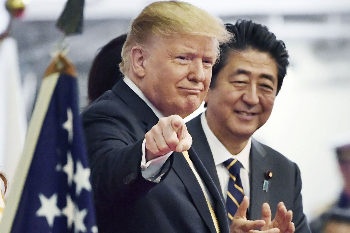 Oil, nukes, Trump and North Korea on Shinzo Abe's agenda as Japan sets date for Iran visit