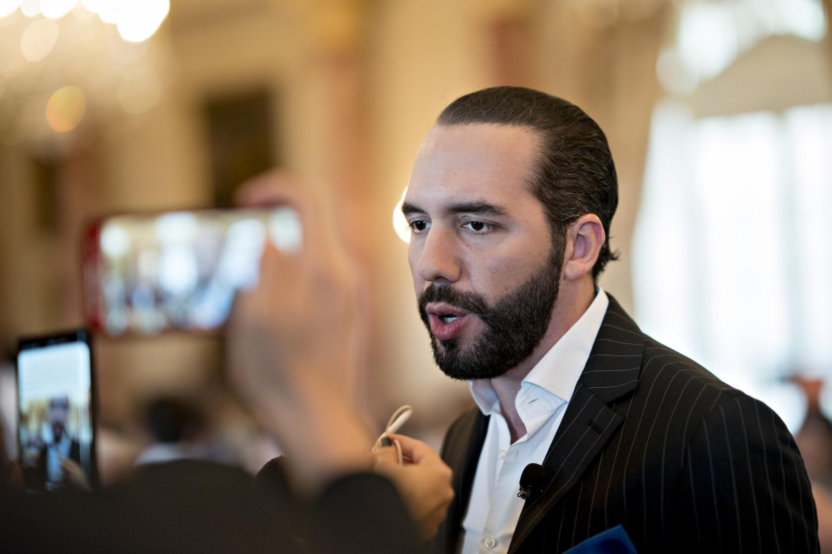 O presidente de El Salvador, Nayib Bukele, disse que seu país é culpado -  The Harpe
