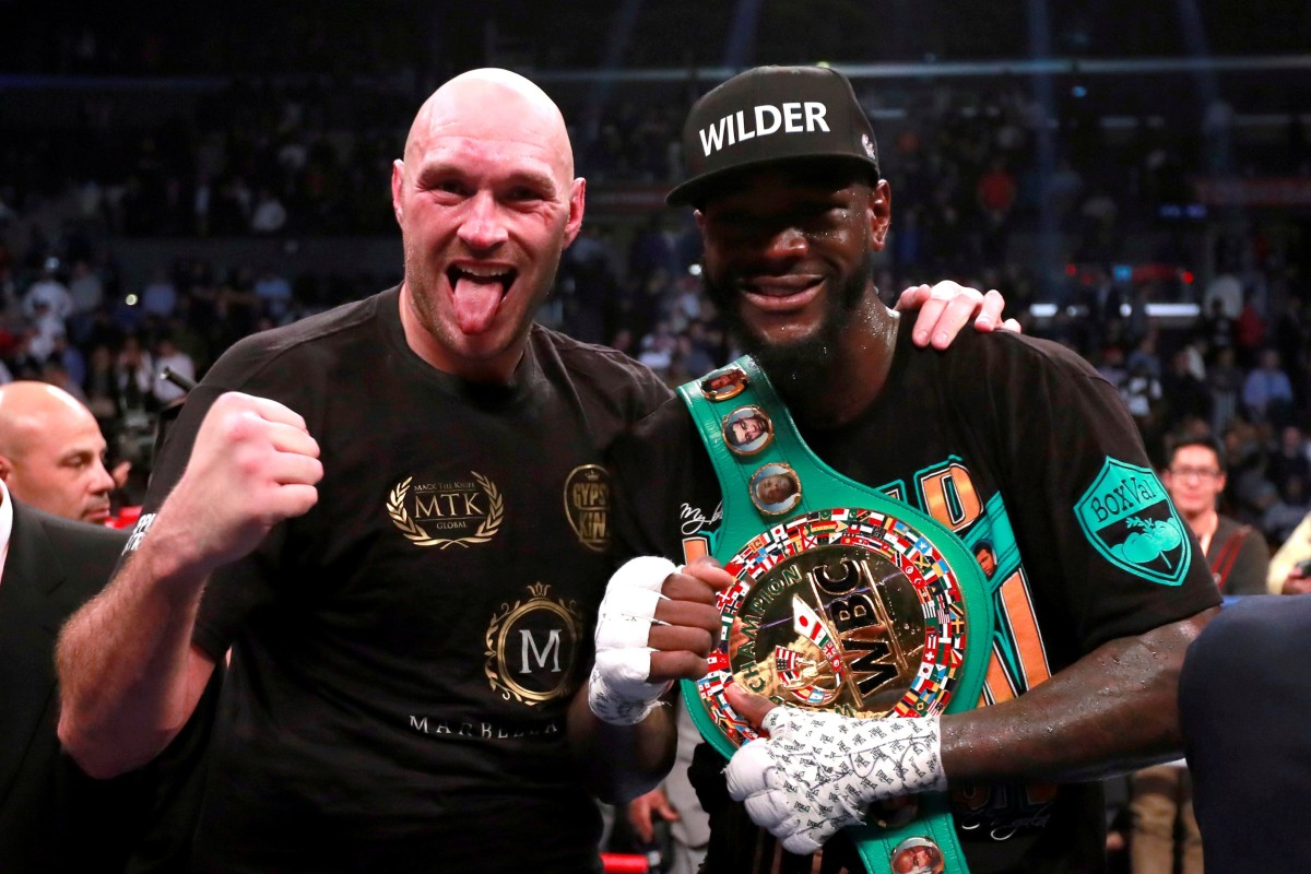 Deontay Wilder and Tyson Fury ...