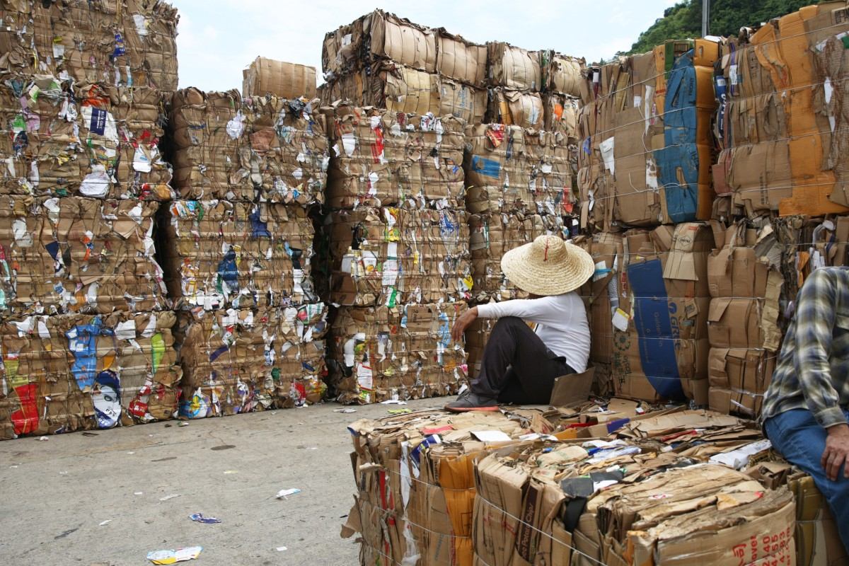 Hong Kong braces for cardboard pile-ups as recycling price