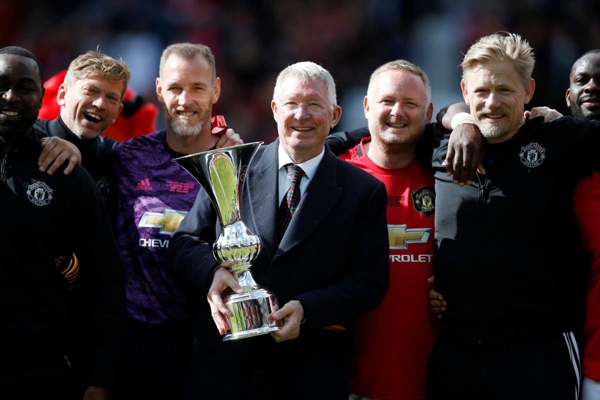 abef57147 Manchester United recently celebrated their 1999 treble win with a charity  match at Old Trafford –
