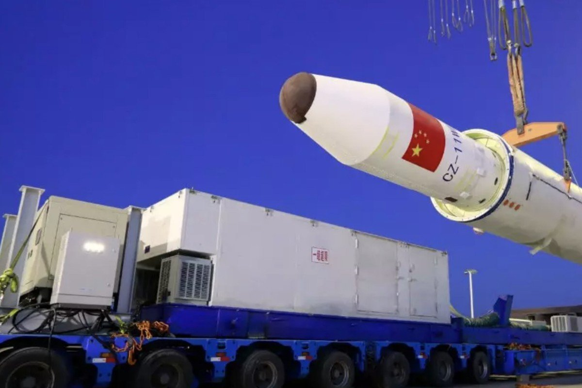China has successfully launched a rocket into space from the Yellow Sea, making it the first nation to fully own and operate a floating sea launch platform. Photo: China National Space Administration