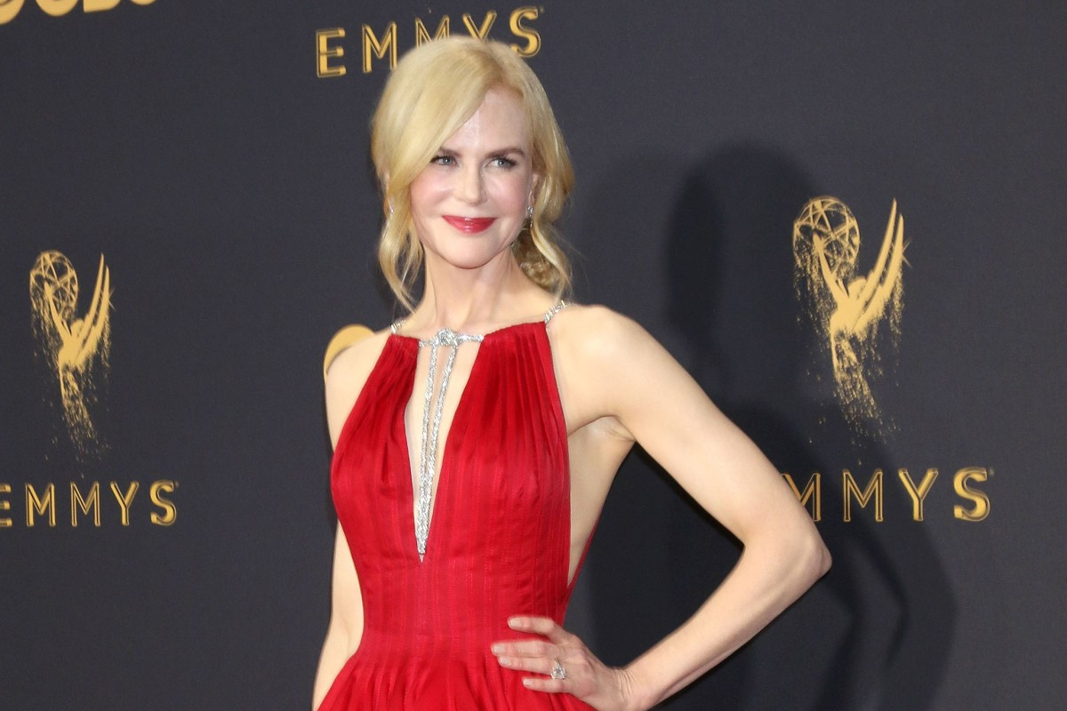 4a7d99e933a Australian actress, Nicole Kidman, stars in HBO's hit television drama, Big  Little Lies