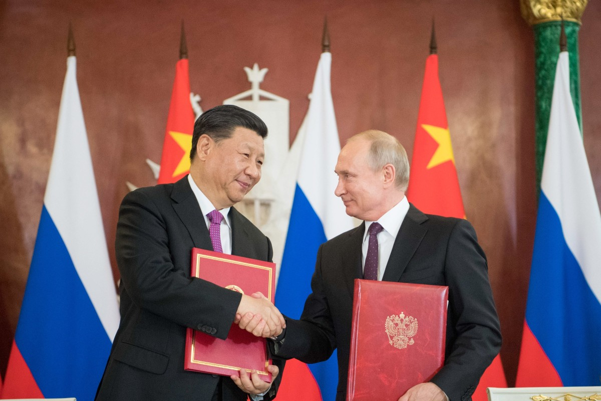 Xi Jinping and Vladimir Putin agreed to deepen their unprecedented partnership. Photo: Xinhua