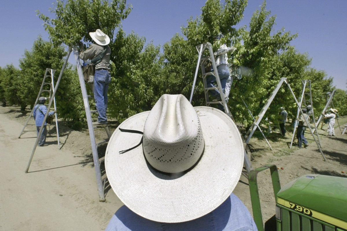 A quarter of pesticides used by US farmers are banned in the