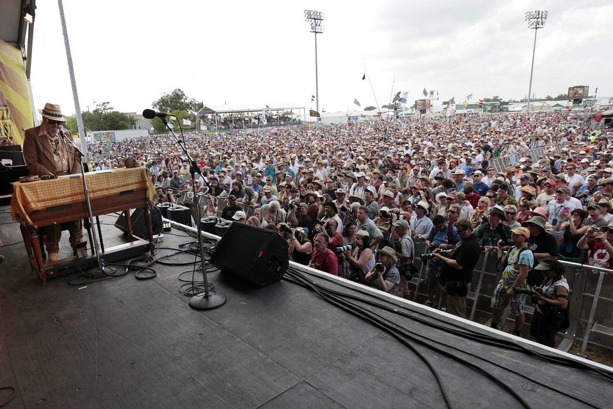 Multiple Grammy-winning New Orleans 'Night Tripper' Dr  John
