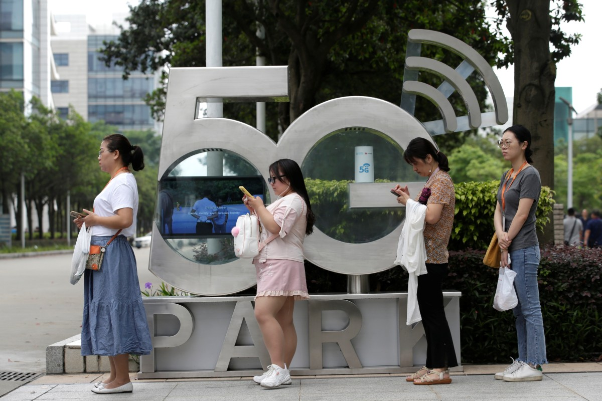 China awards 5G licences to country's major telecoms network