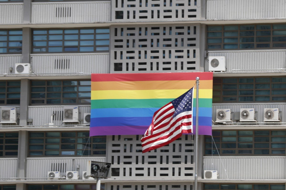 'Category one insurrection': US embassies hoist rainbow flags for Pride Month, defying Washington