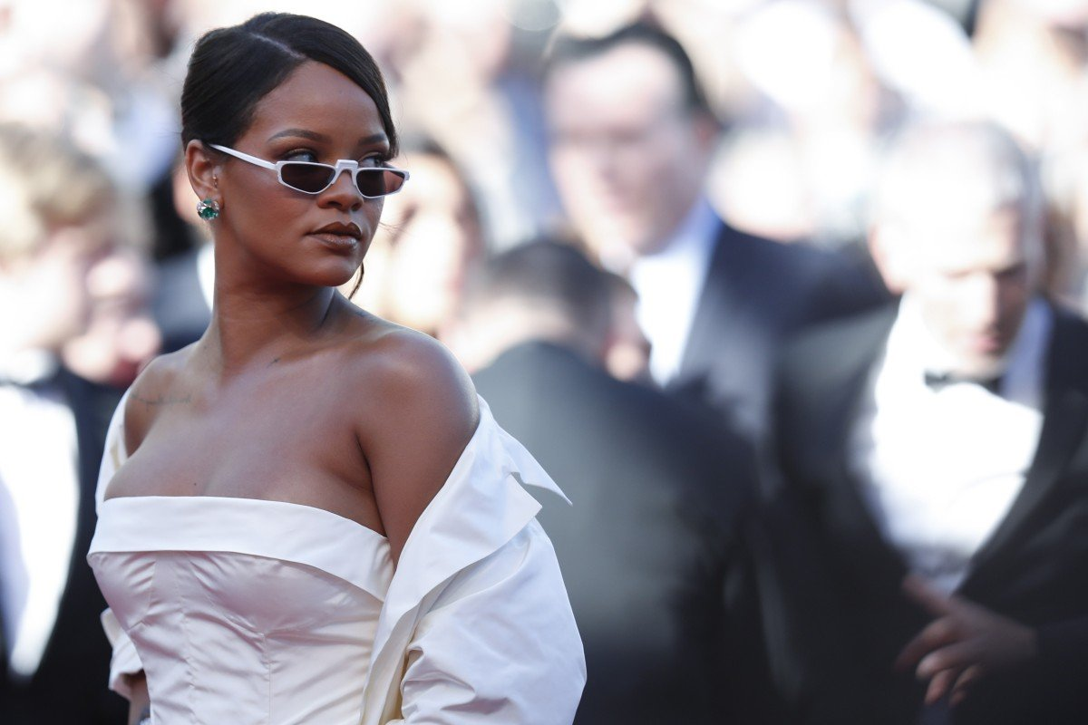 She's been hard at work, work, work! Rihanna proudly debuts
