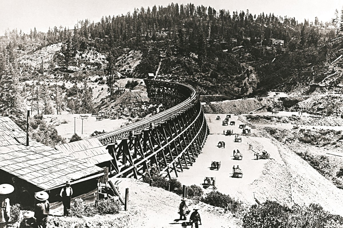 The Chinese workers who built an American railway and their history detailed in new book