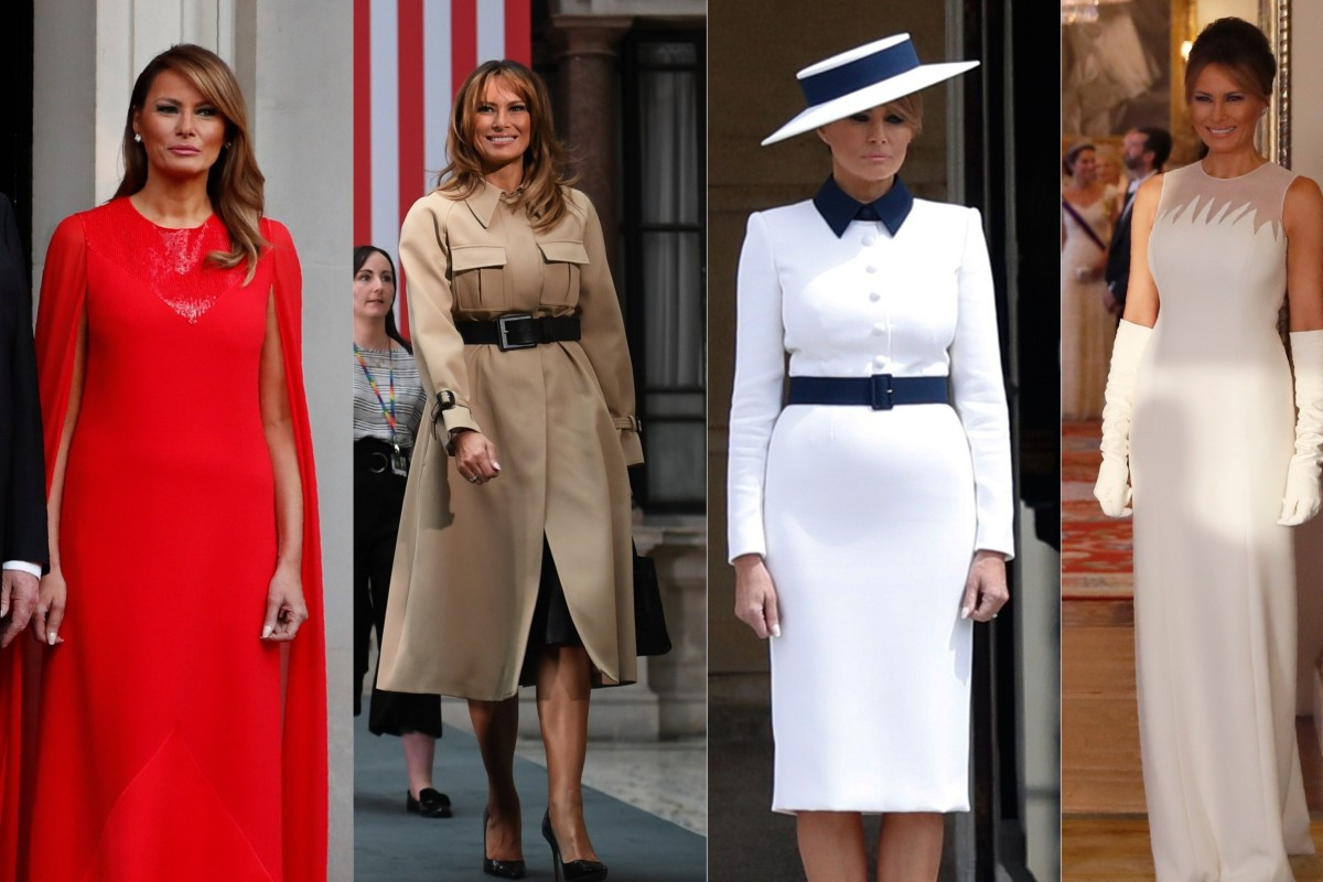 Mayor Dave Takes On Lycra Dress Code >> From Dior And Hermes To Givenchy And Celine See How Melania Trump