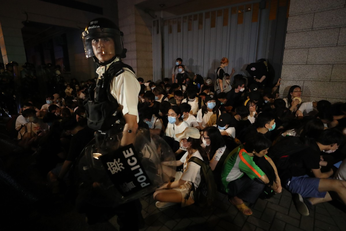 Protesters Police Fight Pitched Battles After Historic