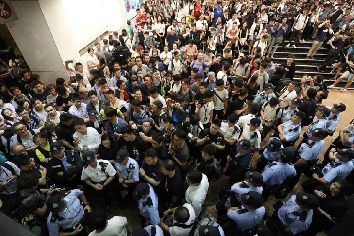 Image result for hong kong strike 2019