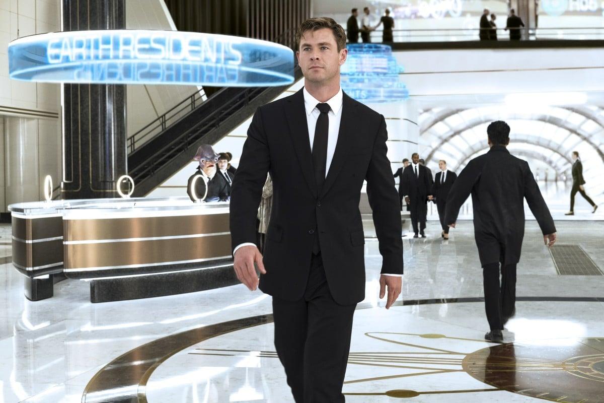 5c8dedcae Chris Hemsworth in a still from Men in Black: International (category IIA),