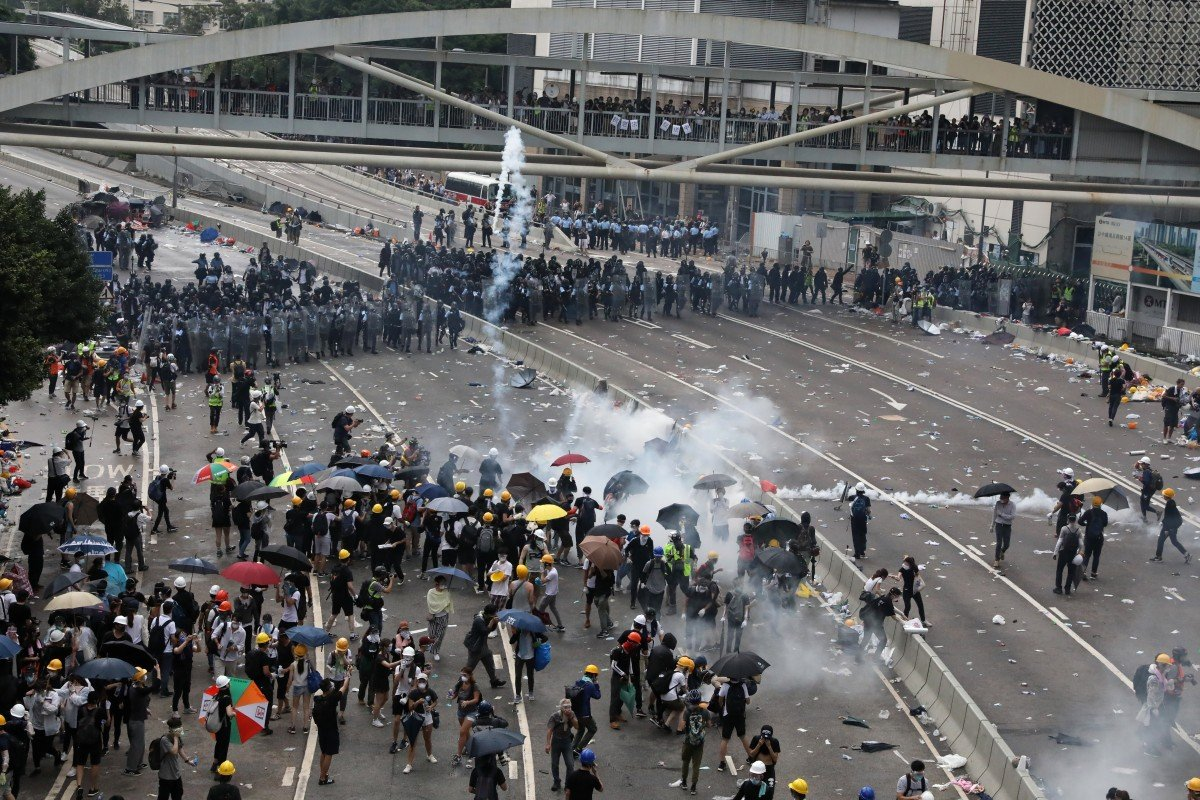 Were violent clashes over Hong Kong extradition bill a riot or disturbance? What's the difference and how do you define them?