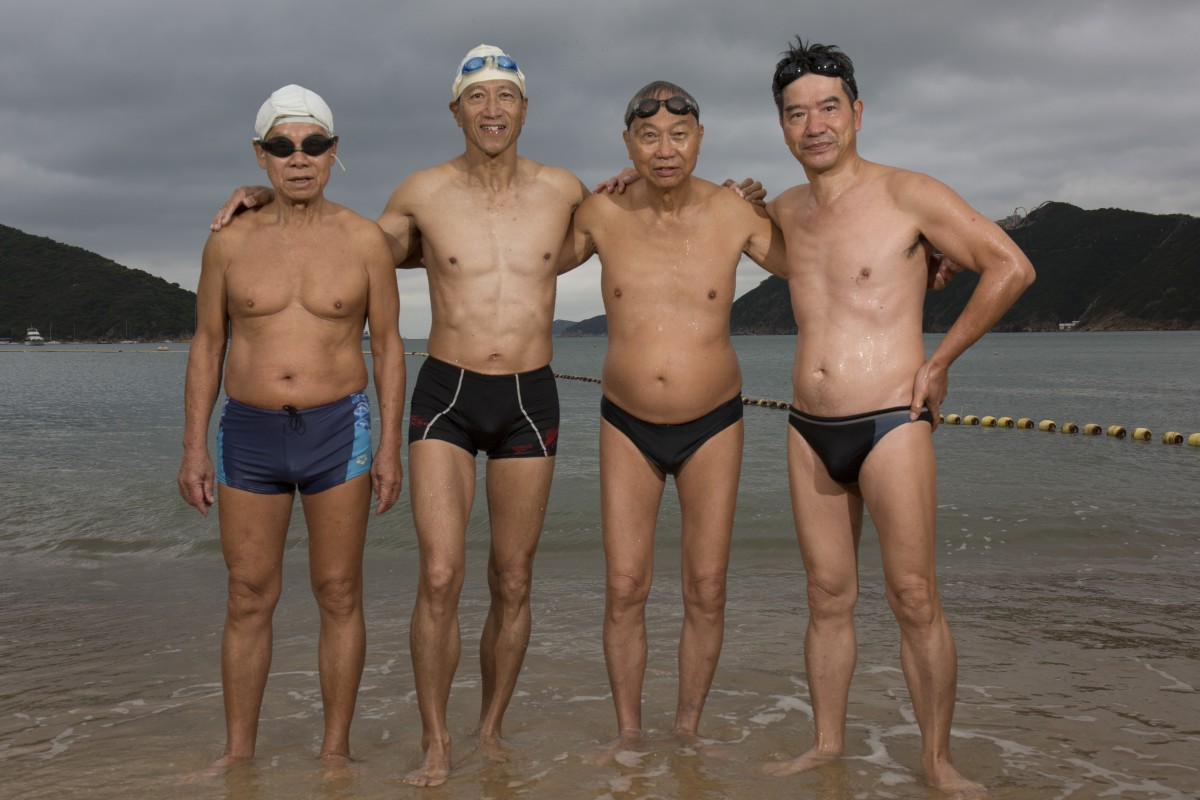 Swimming every day: age is no barrier for the regulars at Hong Kong's Deep Water Bay