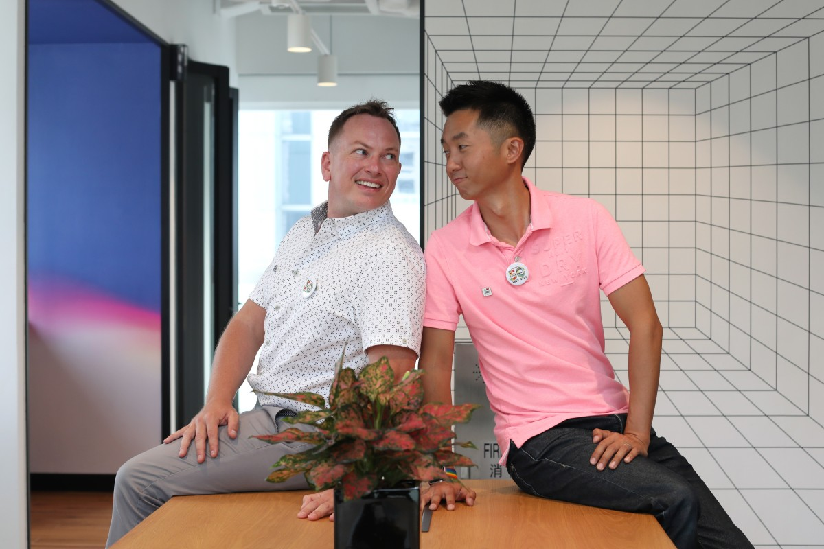 LGBT couple in landmark Hong Kong case say coming forward was vital to give encouragement to others who...