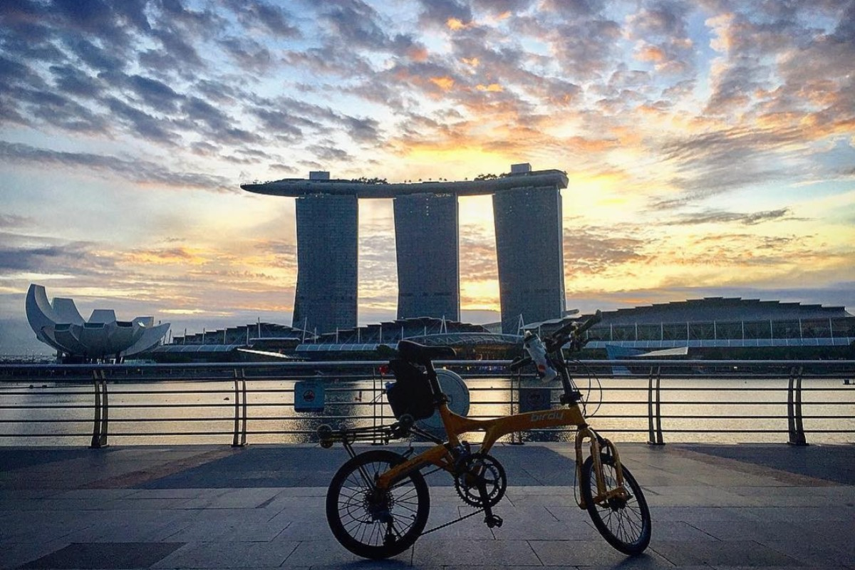 f8ddb0c2e4 While it's a beautiful and safe place to cycle, Singapore recently  introduced legislation which can