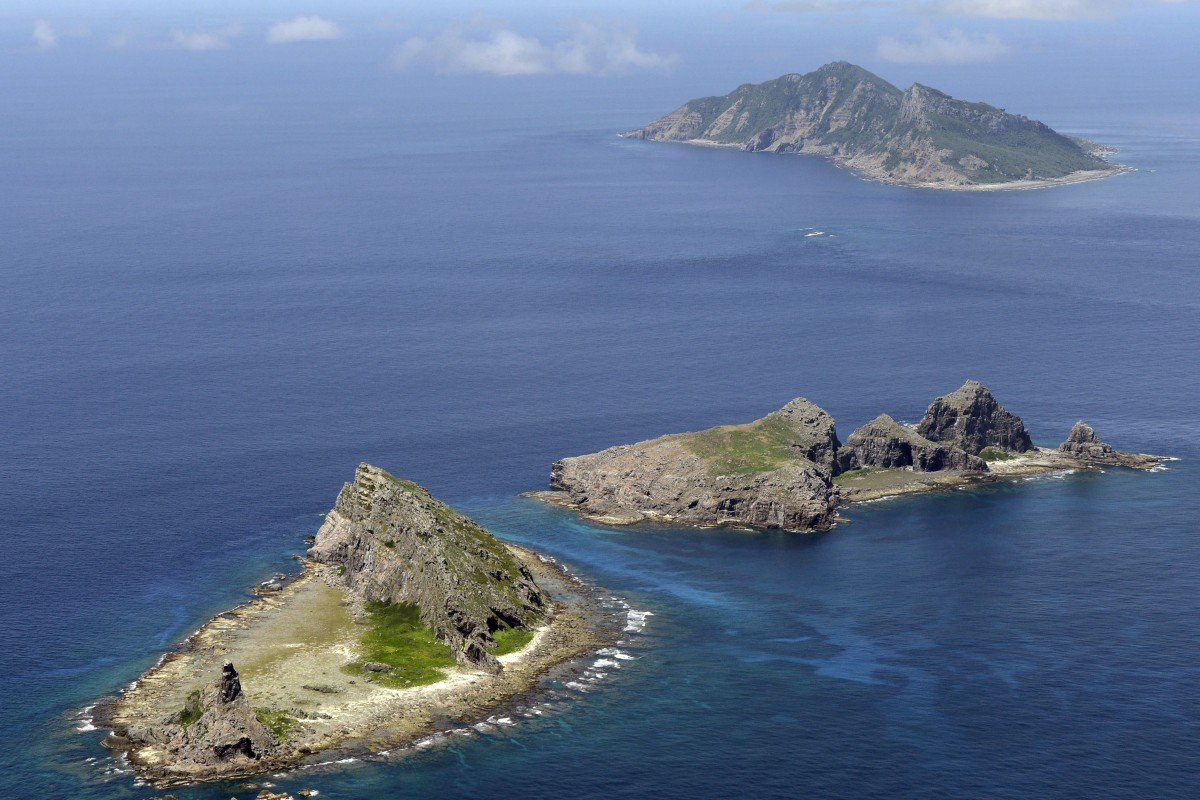 The disputed islands in the East China Sea are known as Senkaku in Japan and Diaoyu in China. Photo: Kyodo
